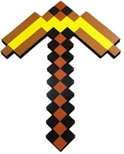 Золотая кирка Майнкрафт
