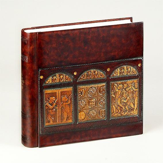 Фотоальбом с барельефом «Триптих», библейская тема
