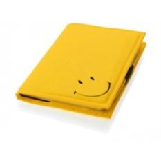 Записная книжка Smiley А5 в чехле