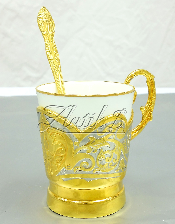 Кофейная чашка Узор