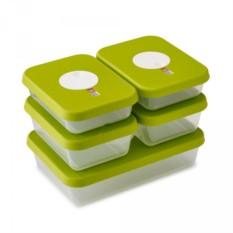 Набор из 5 контейнеров для продуктов Dial