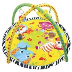 Развивающий коврик Весёлый Зоопарк с игрушками