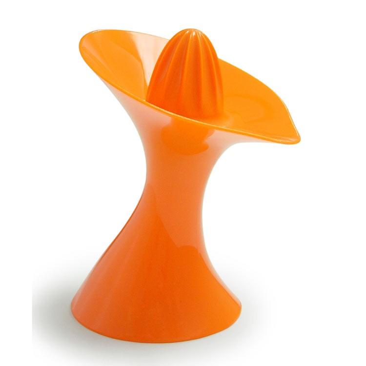 Соковыжималка ручная Queezy, оранжевая