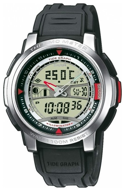 Мужские наручные часы Casio Thermometer AQF-100W-7B