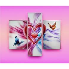 Картина Swarovski Магия любви