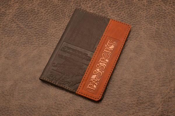 Обложка для паспорта GukFactory (коричневая)