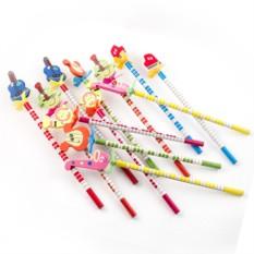 Набор карандашей на пружинке №12