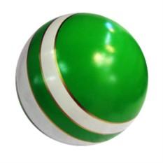 Резиновый мяч Полоска лакированная (15 см)
