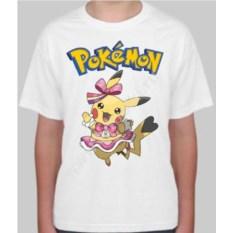 Детская футболка Девочка-пикачу
