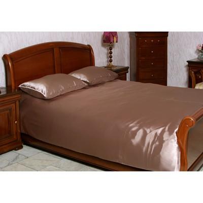 Шелковое постельное белье «Шоколадный»
