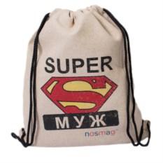 Набор носков в мешке с надписью «Супер муж»