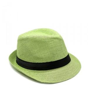 Шляпа Straw, салатовая