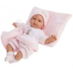 Кукла-младенец с озвучиванием Марти в розовом