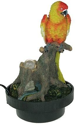 Настольный фонтан Попугай
