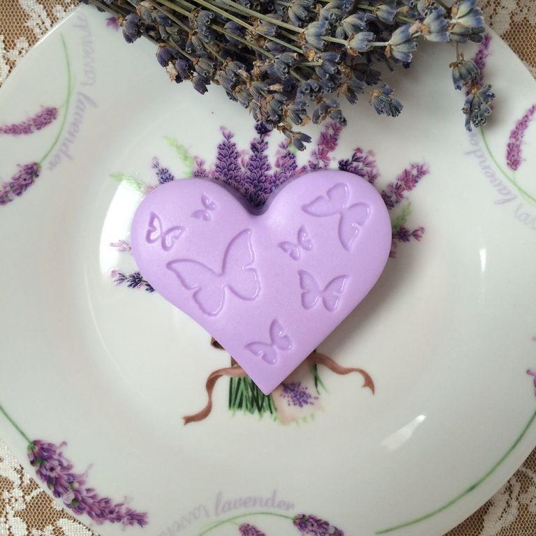 Сувенирное мыло Бабочки в сердце
