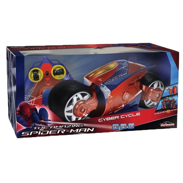 Радиоуправляемая игрушка Majorette Мотоцикл Spider-Man