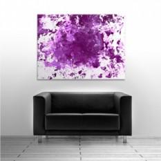 Набор абстрактной живописи Love as Art Violet
