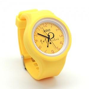 Жёлтые часы Arithmetic