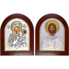 Венчальные иконы Богородица Одигитрия Смоленская и Спаситель