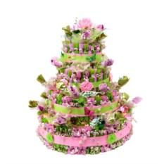 Букет из конфет Большой торт