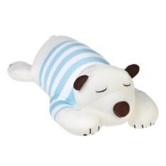 Мягкая игрушка Белый мишка в тельняшке
