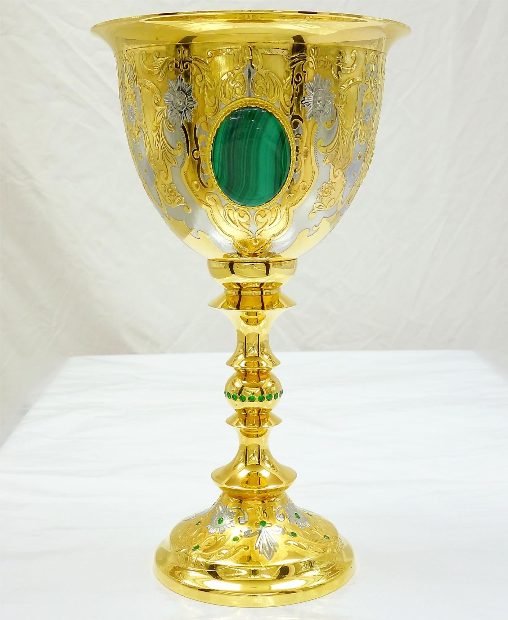 Кубок «Золотой малахит №2»