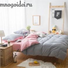 Комплект трикотажного постельного белья На седьмом небе