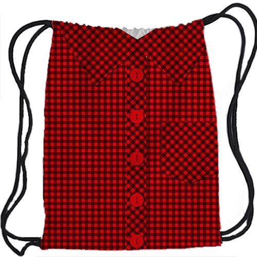 Рюкзак-мешок Рубашка в клетку