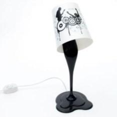 Светильник Краска (цвет: черный)