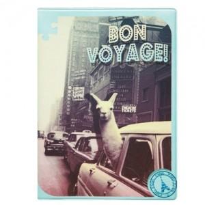 Обложка на автодокументы Лама в Нью-Йорке