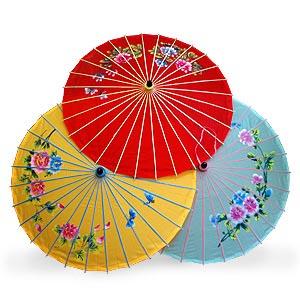 Восточный зонтик «Букет»