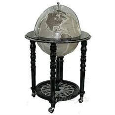 Напольный глобус-бар с кристаллами Swarovski