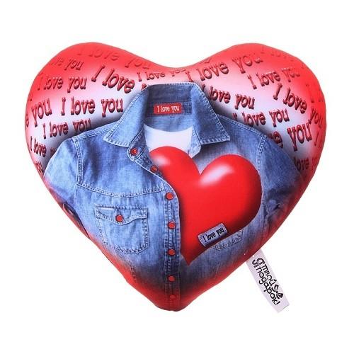 Подушка-релаксатор Сердце нараспашку