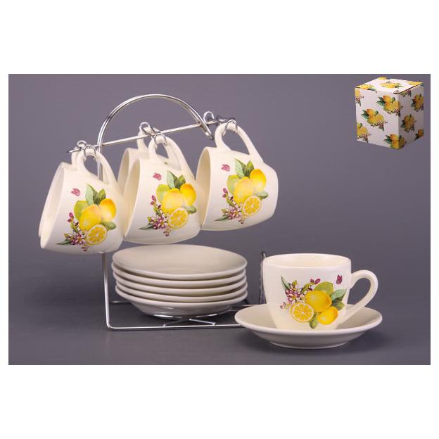 Чайный набор на 6 персон «Лимон»