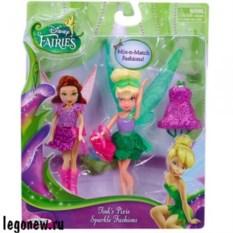 Игровой набор Disney Fairies Кукла с волосами и платьем