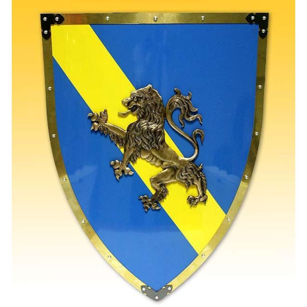 Настенный щит с гербом «Лев»