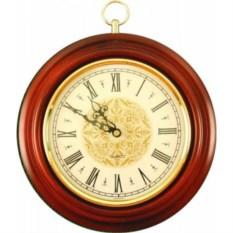 Настенные часы, диаметр 24 см.