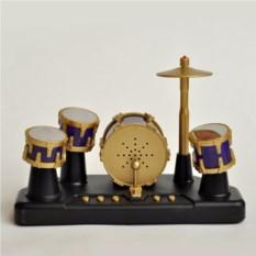 Золотая барабанная установка для пальцев