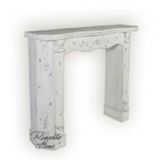 Декоративный камин-портал в стиле прованс