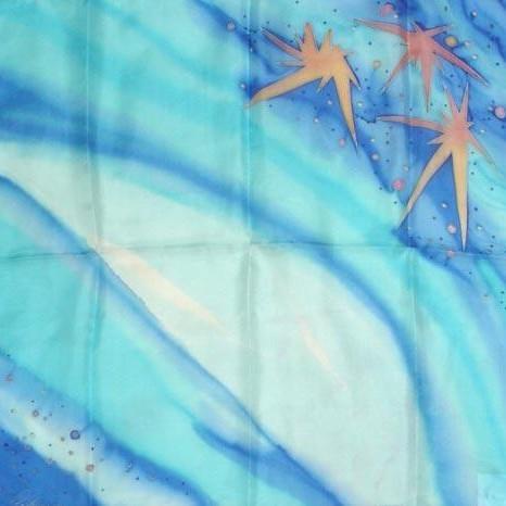 Платок шейный Звёзды