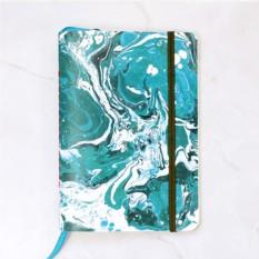 Блокнот Marbling Aquamarine