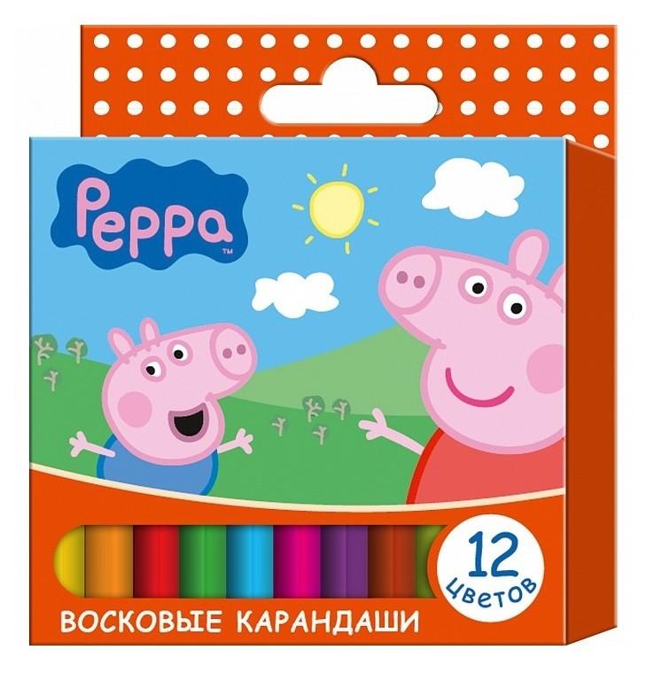Восковые карандаши «Свинка Пеппа»