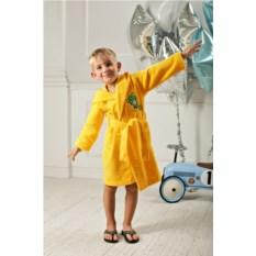 Детский бамбуковый халат Малыш (цвет: желтый)