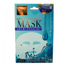 Маска для лица c 3 гиалуроновыми кислот. Japan Gals Premium