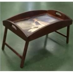Столик для завтрака с высоким бортиком Лебединая верность