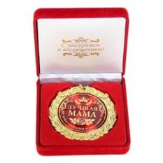 Медаль в бархатной коробке Лучшая мама