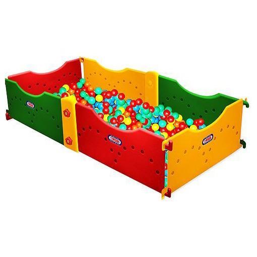 Игровой сухой бассейн 6 секций Happy Box