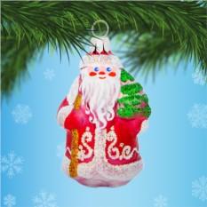 Елочная игрушка «Дедушка Мороз в красной шубе»
