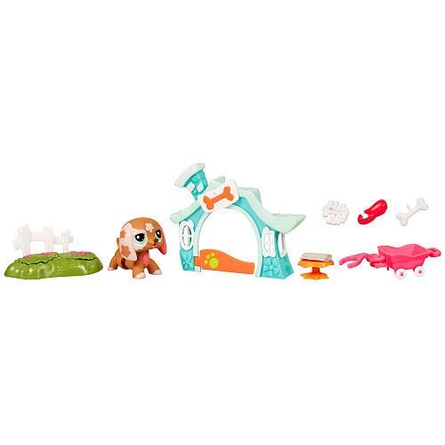 Игровой набор с ходячим зверьком Собачка