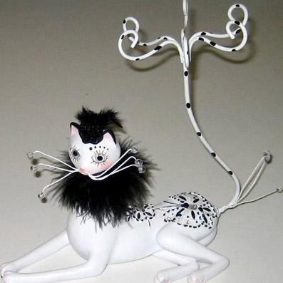 Подставка для бижутерии «Кошка»